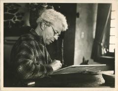 Robert Tatin à la Frénouse, 1965